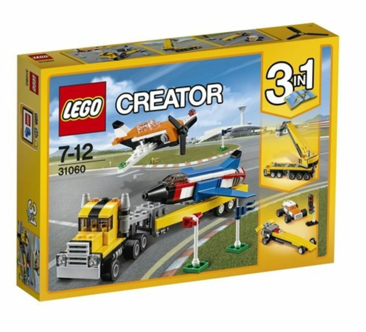 [LEGO] CREATOR Airshow Aces 31060 2017 Version Free Shipping
