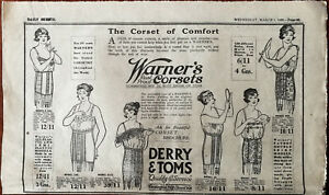 Derry-amp-Toms-Werner-s-Rust-Proof-Corsets-The-Corset-of-Comfort-Vintage-Ad-1922