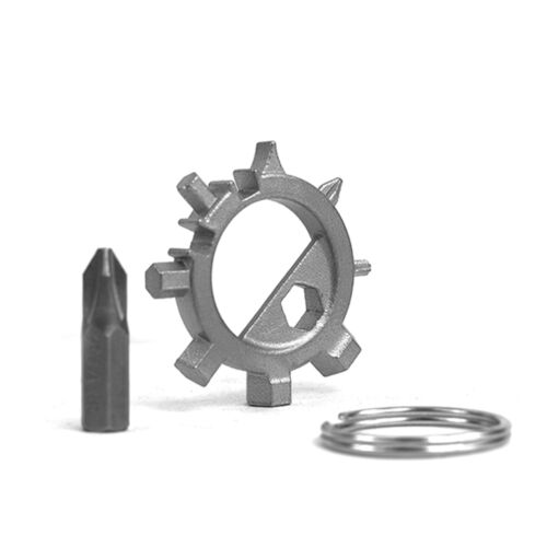 1X EDC gear gadget 12 in 1 Bicycle repair Octopus Shape tool Phillips Screwdrive