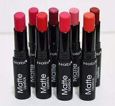 8ct NABI  Matte Lipstick Professional Selected Amazing Colors NEW #A