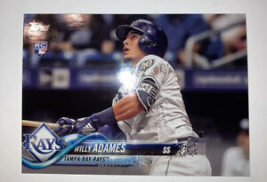 2018-Topps-Update-Willy-Adames-RC-TAMPA-BAY-RAYS-Rookie-baseball-card-NM-MT