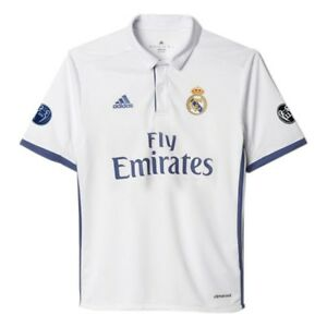 0e76d33be Adidas 2016 2017 Real Madrid UCL Edition Junior Boys Home Football ...
