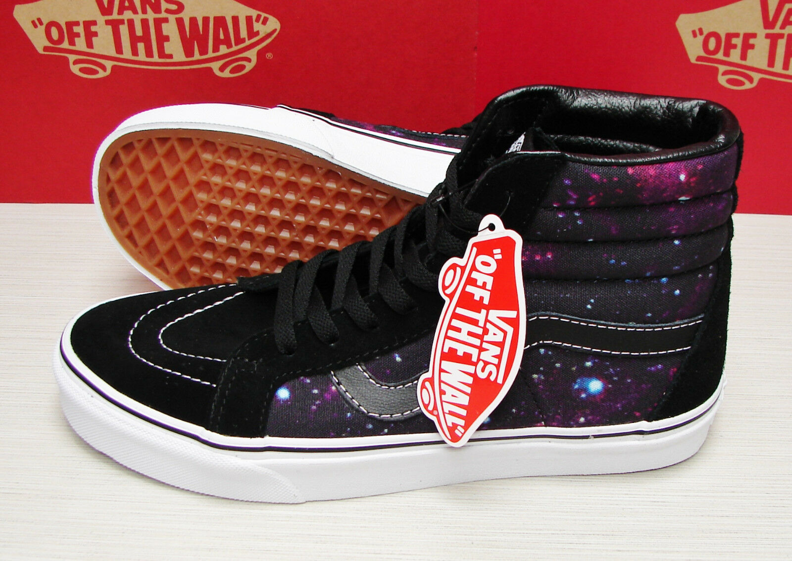 Vans SK8 Hi Cosmic Black True White   VN-0ZA0EQ8  Men's Size: 10