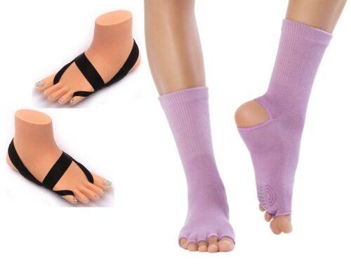 Ashipita yogaline con original knitido yoga Flow dedos del pie calcetines