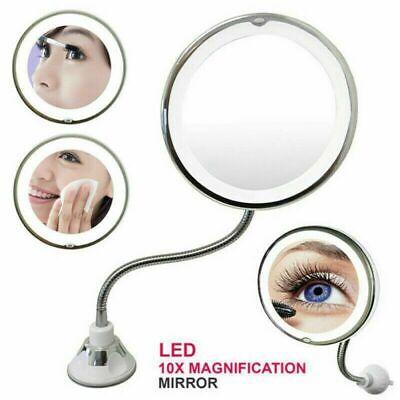 10x Gooseneck Magnifying Makeup Mirror Magnification