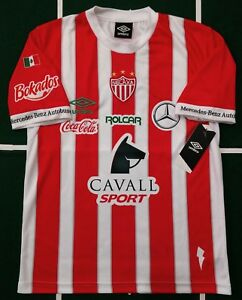 a643fc537fadc UMBRO RAYOS DEL NECAXA JERSEY LOCAL HOME SHORT SLEEVES ORIGINAL NWT ...