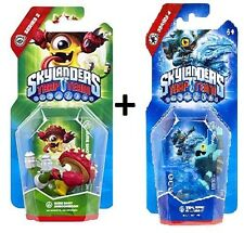 Skylanders Trap Team Action Figure - Sure Shot Shroomboom + Tidal Gill Grunt