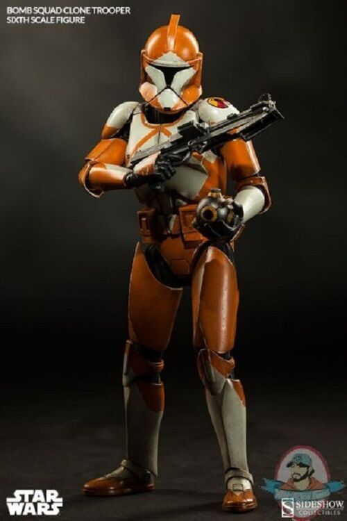 1 6 Sixth Scale Bomb Squad Clone Trooper Ordnance Ordnance Ordnance Specialist by Sideshow 09fa75