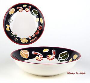 Image is loading 11-1-8-034-Pasta-Serving-Bowl-NEAR-  sc 1 st  eBay & 11-1/8\