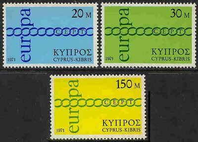 Zypern 359-361 * * Europa 4647p Keine Rü Eleganter Auftritt Privatverkauf Erhaltung Siehe Foto