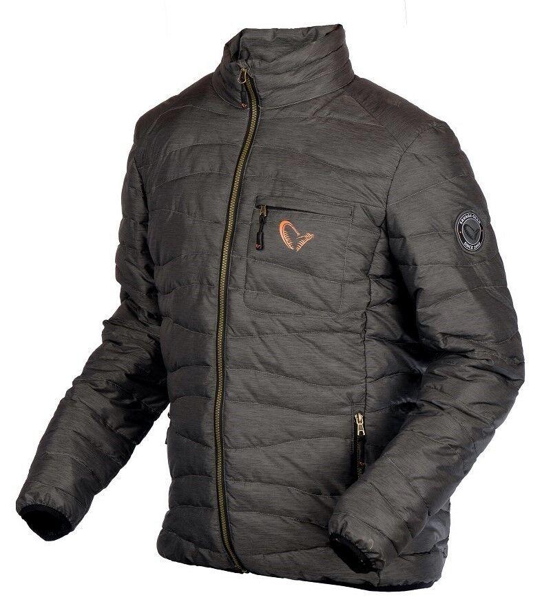 Savage Gear Simply Lite Jacket Superleggero Caldo Giacca Trapuntata Angelo