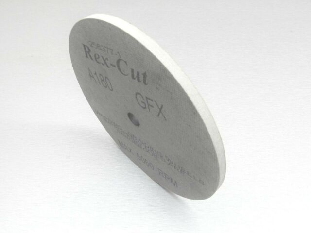 "REX CUT WHEEL 1//4/"" THICK GFX A120 GRIT 6/""x1//4/""x1//2/"" FIBER MX DEBURRING WHEELS"