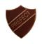 Préfet Brown pin badge pour les écoles