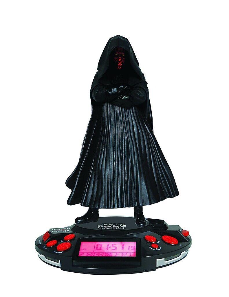 Star Wars Darth Maul Alarm Clock Radiowecker Kinderuhr Radio Wecker by Brand Toy