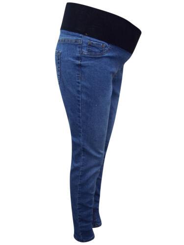 Ladies New Look Under Bump Skinny Stretch Maternity Denim Jegging Jeans Sze 8-16