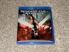 Resident Evil: Apocalypse (Blu-ray Disc) *NEW*