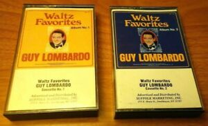 Waltz-Favorites-by-Guy-Lombardo-Cassette-Set-of-2-Tapes-Suffolk-1986