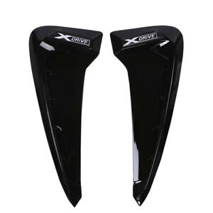 2PCS Side Wing Fender Air Guide Vents Cover For BMW X5 X5M F15 F85 2014-2018