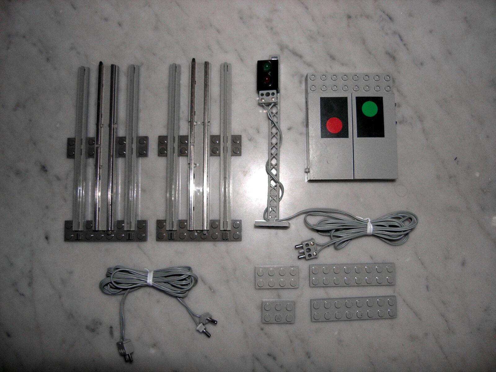 LEGO® Eisenbahn 12V Train Signalanlage 7860 Ampel Remote Controlled Signal