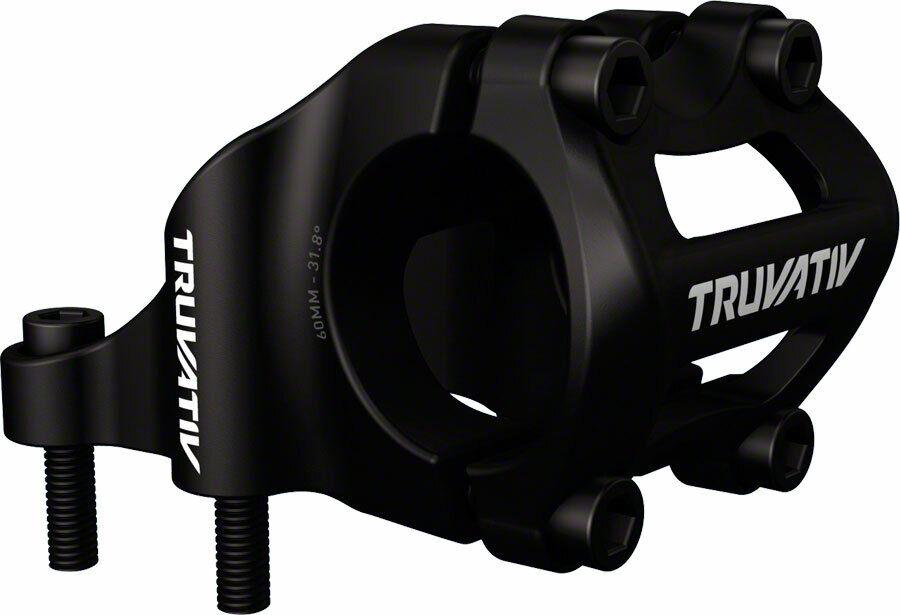 TruVativ Holzfeller Stem 4-bolt Direct Mount + - 0 degree 60mm 0 Rise 31.8