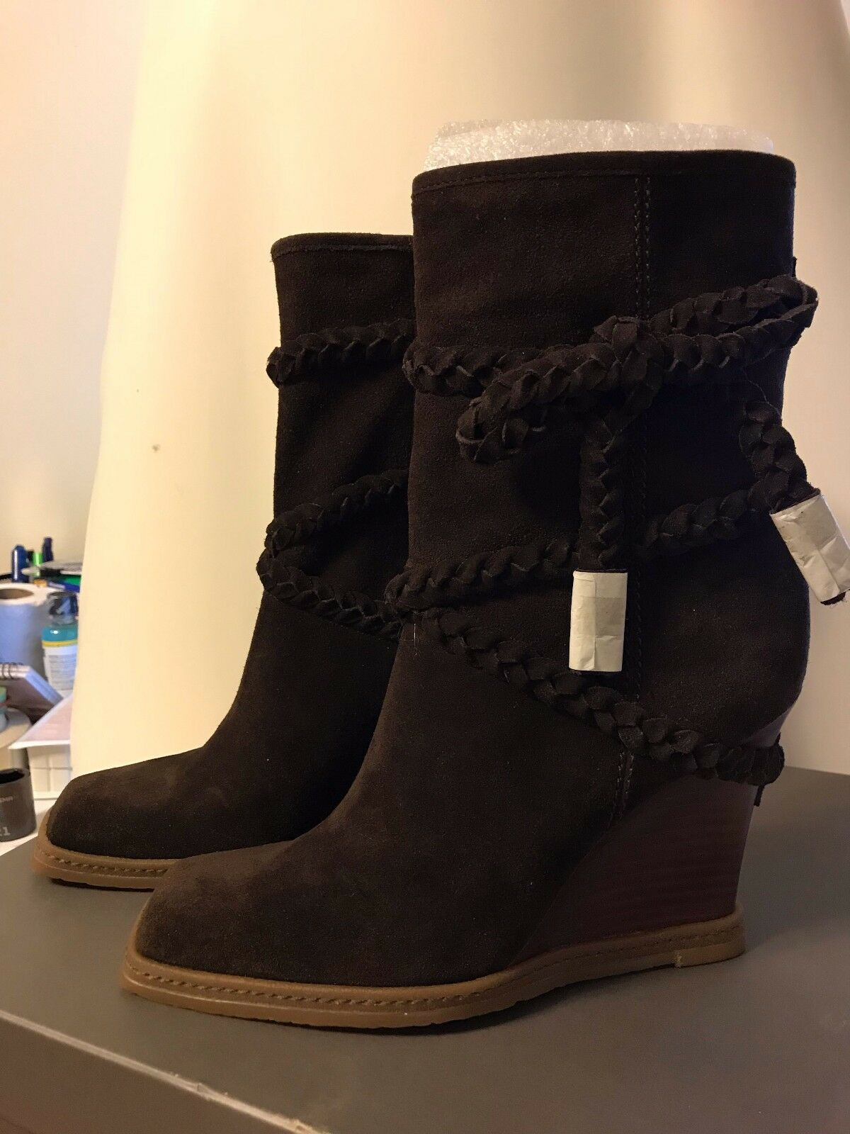 NEW NEW NEW VINCE CAMUTO MOKA VC-LEAL CALF SUEDE 8ac6a2