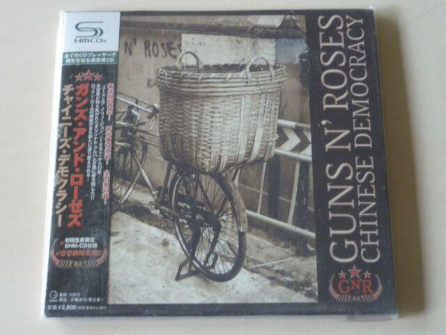 GUNS N' ROSES - Chinese Democracy - Rare Japan SHM-CD - EX Condition - SALE