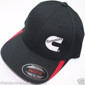 9458d2dbb24 S M Dodge Cummins fitted hat ball cap flex fit base cummings flexfit ...