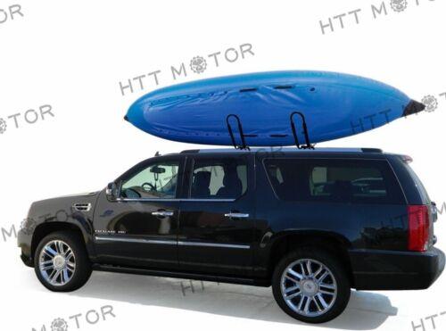 J-Bar Rack HD Kayak Carrier Canoe Boat Surf Ski Roof Top Mount Car SUV Crossbar