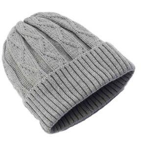 4beb16df60f NEW Urban Pipeline Winter Warm Cable Knit Beanie Ski Cap Hat Gray ...
