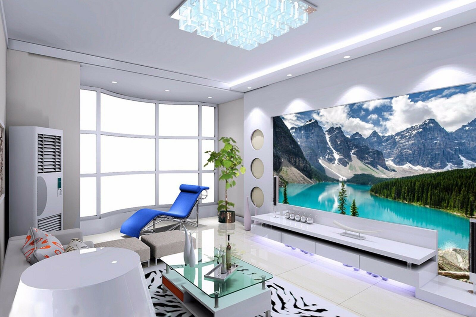 3D Snowy mountains 3647 Wall Paper Wall Print Decal Wall Indoor Murals Wall US