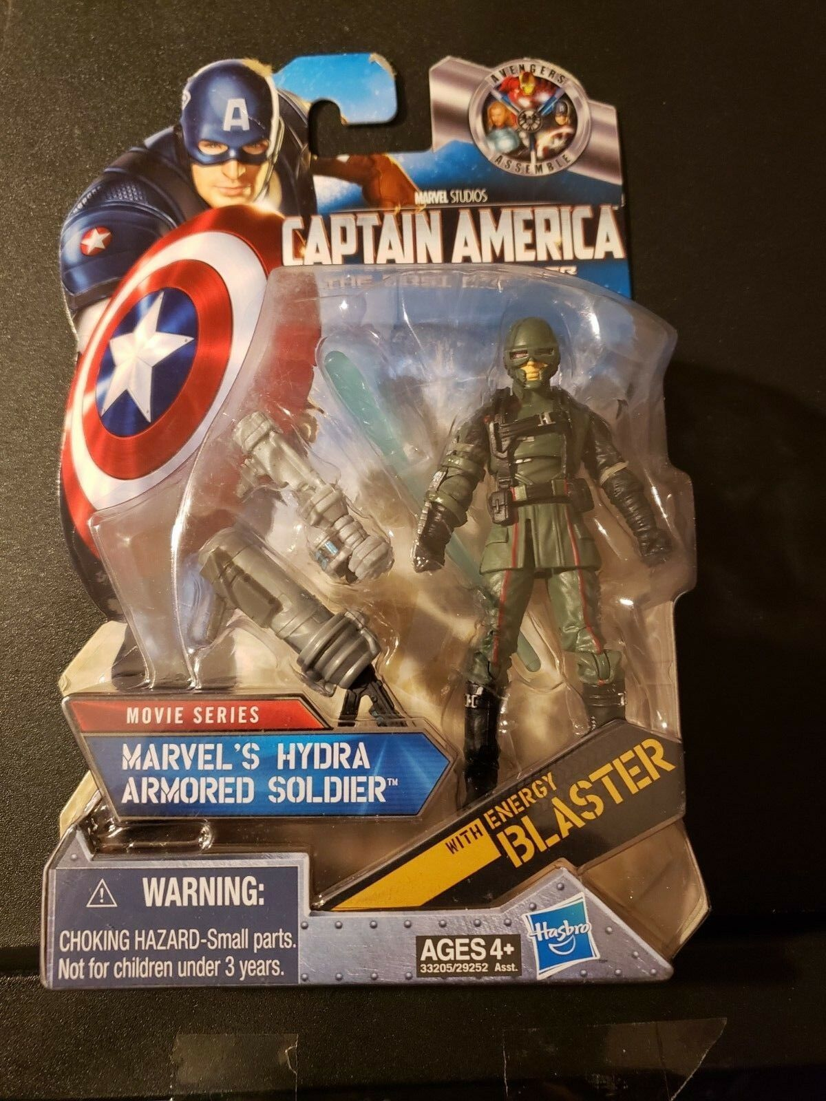 Marvel Universe Captain America Red Skull Hydra armored soldier variant RARE
