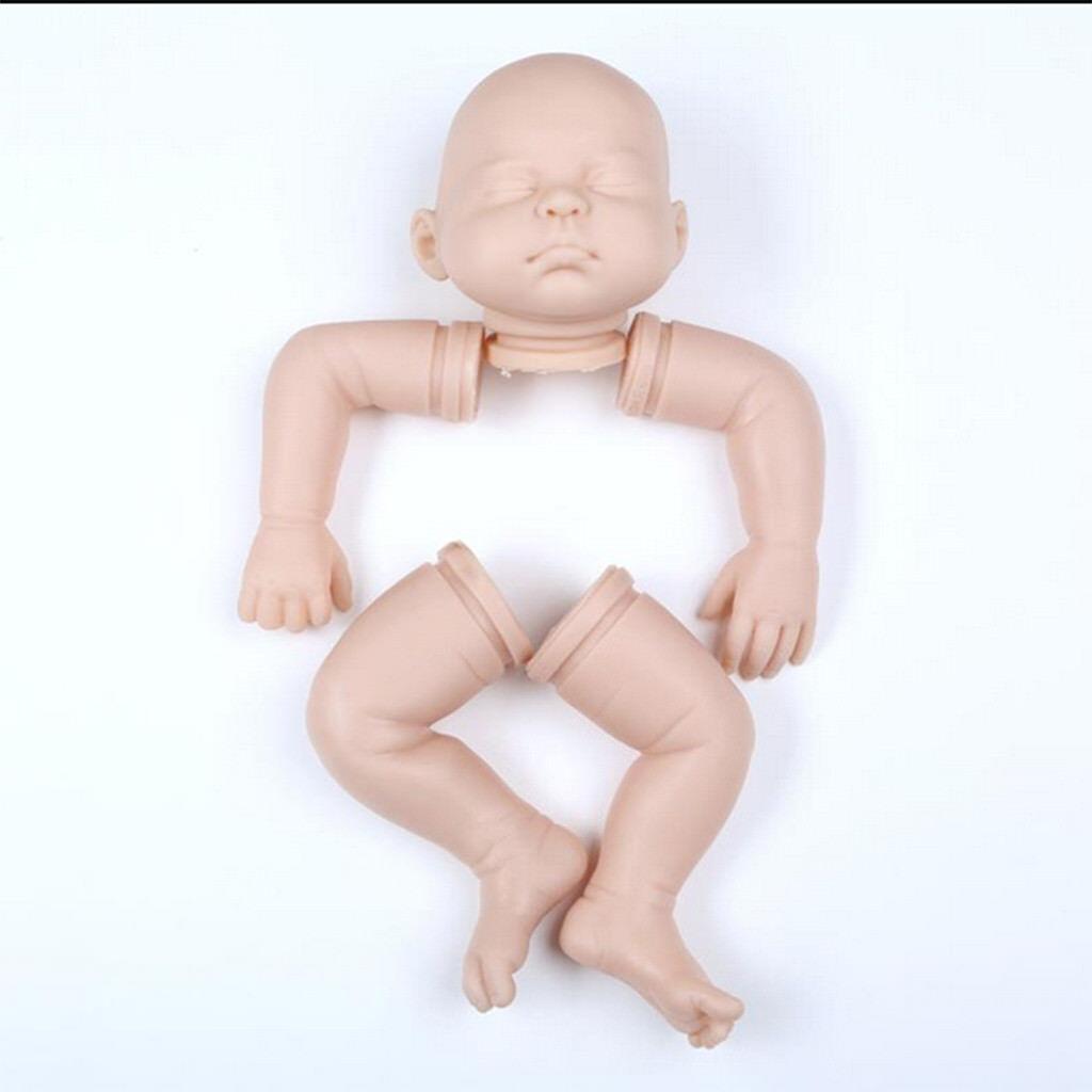 20  Uniciinted Reborn Kit Kit Kit Baby Doll Soft Head 3 4 Arms Full Legs   3 aca1d4