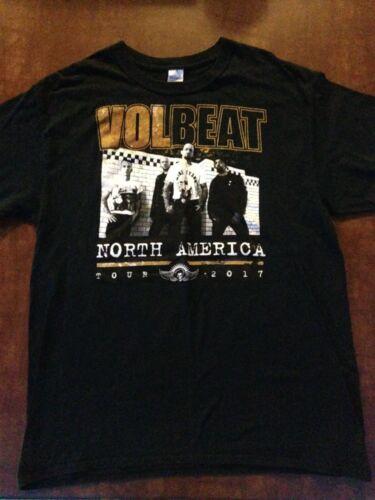 VOLBEAT 2017 North America Tour Concert T-Shirt