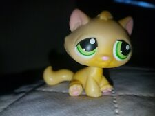Littlest Pet Shop~#413~Butterfly~Pink Green Orange~Green Dot Eyes~Red Magnet