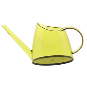 Green Indoor Mini Plants Flowers Watering Pot for Home Decor Plastic Watering Can 1L- Long Spout