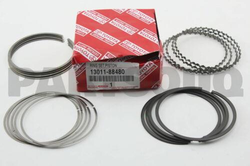 1301188480 Genuine Toyota RING SET PISTON 13011-88480