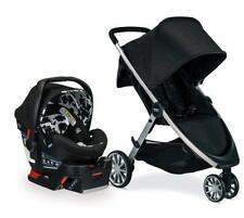 Britax Ultra Travel System Stroller Infant Car Seat Kids Child Cowmooflage