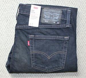 Lavado EtiquetasPara Denim Delgado 511 De Hombre Levi's Nuevo Acerca Pantalones Detalles Jeans Oscuro Título Estiramiento Con Mostrar 7Yf6vbgy