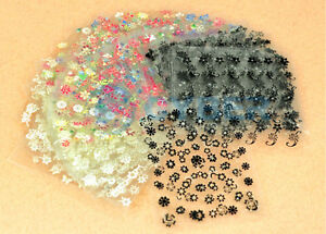 12-SHEETS-OF-3D-NAIL-ART-TRANSFER-STICKERS-MANICURE-BLACK-WHITE-amp-COLOUR-MIX