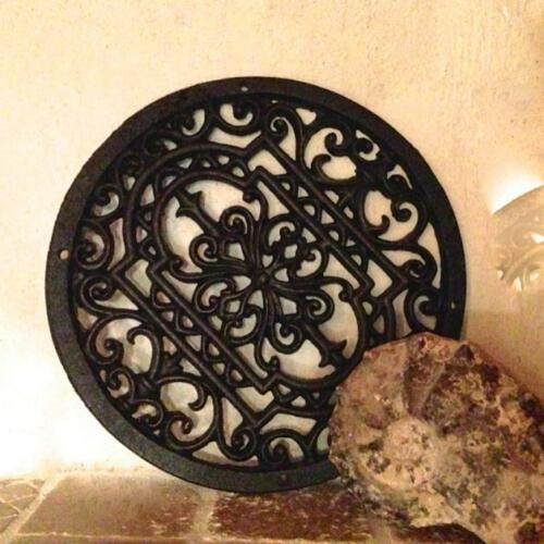 Grille environ comme cheminée grille et décoration pour mur du jardin-Mandala 30 cm