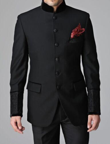 Mens Bandhgala Jodhpuri Suits Stylish Party Wear Dinner Suits Jacket Blazer Coat