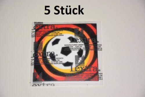 Fussball Patch Bundesliga 1996-2002 Logo Aufbügler Trikot Badge 5 Stück
