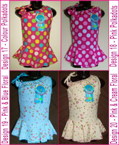 Bathers ~ BEAUTIFUL TOGS with Skirt ~  NEW Girls SWIMWEAR Sz 6 8 10 or 12