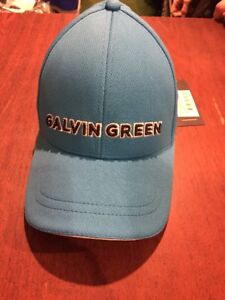 2b833b773a4 Galvin Green Stone Golf Cap. Deep Ocean  Black Trim. One Size. NEW ...