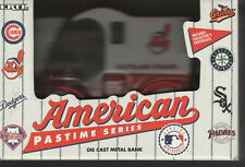 CLEVELAND INDIANS DIE CAST METAL COIN BANK TRUCK NIB NEW IN BOX 1993 ERTL