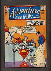 1964-Adventure-Comics-322-VG-First-Print-DC-Superman-Superboy
