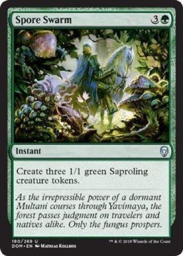 - Dominaria 4 x Spore Swarm Uncommon 180//269