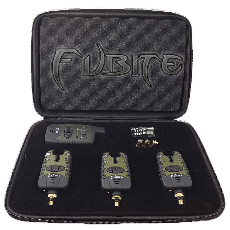 Fubite verde Deluxe Radio morso Indicatore Set 3+1