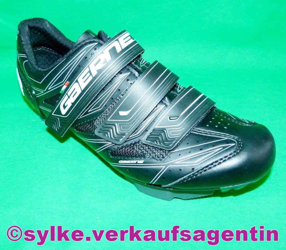 GAERNE G.Cosmo Fahrradschuhe, Bikerschuhe, Herrenschuhe Herrenschuhe Herrenschuhe schwarz, Schuhe Gr.40-48 1479c0