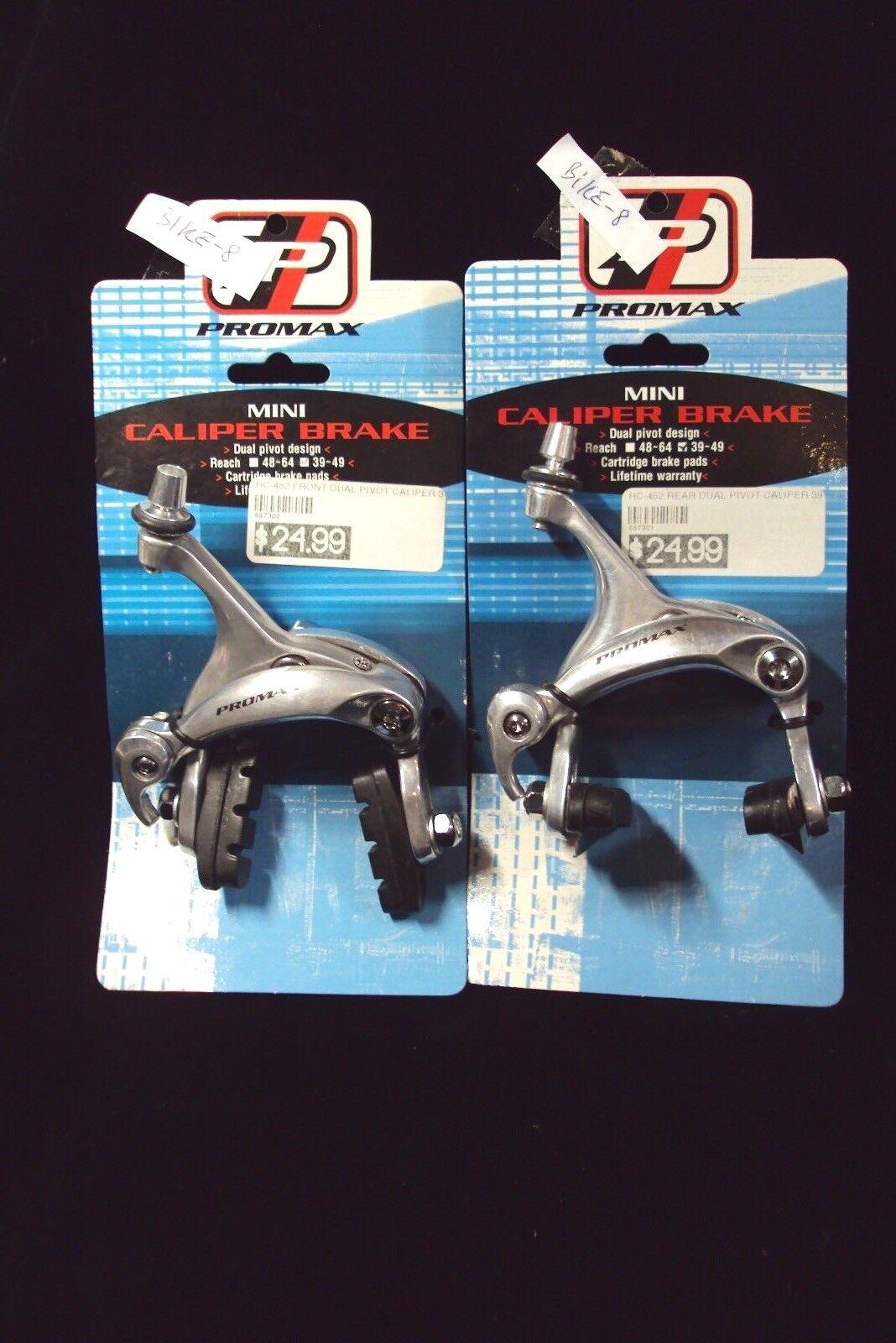 Promax mini Caliper Brake bicycle RC-452 front + rear set dual pivot Reach 39-49